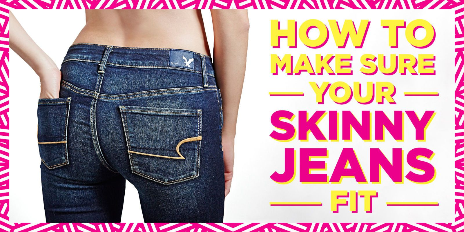 How do flabby girls squeeze into tight jeans?