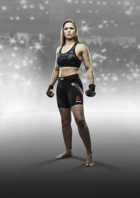 """<p>Ronda Rousey, arguably the biggest mixed martial arts fighter, enjoyed a year in the spotlight that was interrupted when she was <a href=""""http://www.cosmopolitan.com/lifestyle/a49304/ronda-rousey-knockout/"""">shockingly knocked out</a> in a fight in November. </p>"""