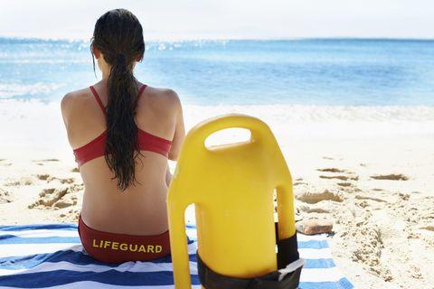 Summer, Brassiere, Swimsuit top, Waist, Beach, Back, Ocean, Undergarment, Bikini, Black hair,