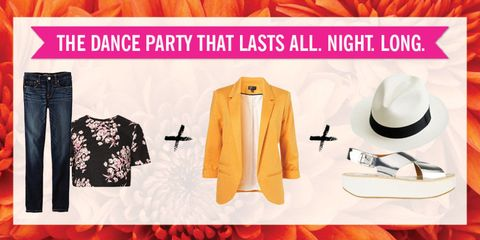 <p>The key to nailing this Big Night Out-fit is threefold: comfy shoes (self-explanatory), layers (so you can go from the sweaty club to the street without missing a beat), and accessories (to add flourish to your moves when Bey comes on).</p>
