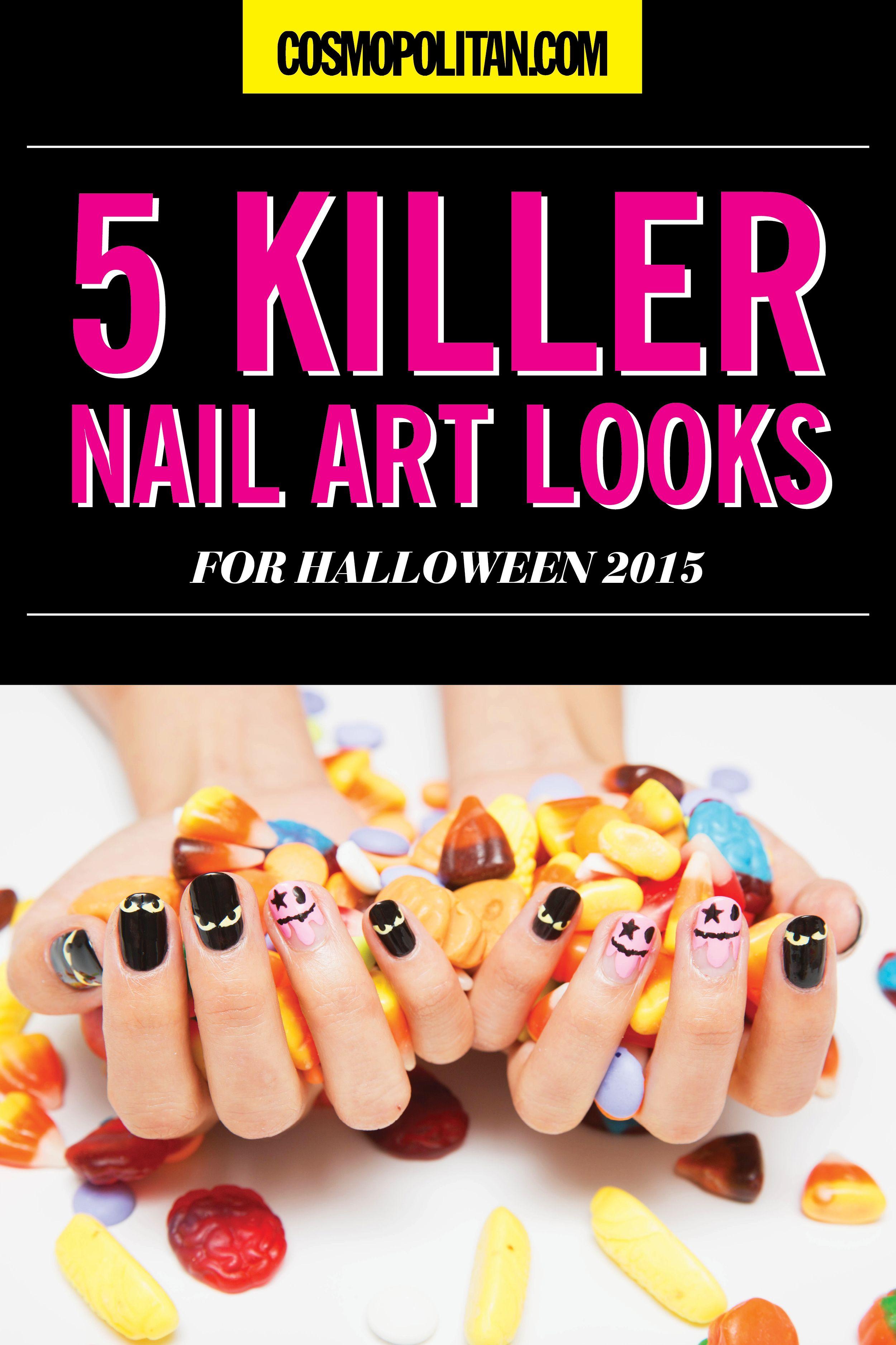 Halloween Nail Art 2015 - 5 Killer Nail Art Ideas for Halloween 2015