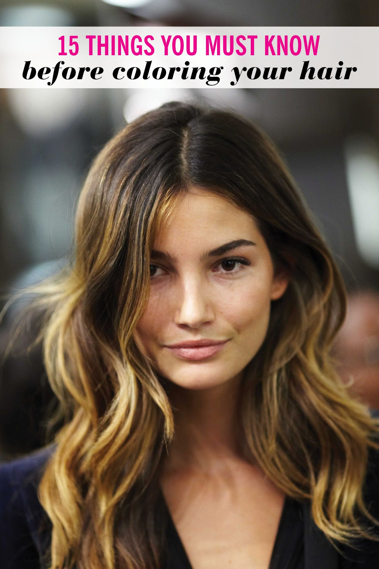 15 things you must know before coloring your hair - Color Tips Of Hair