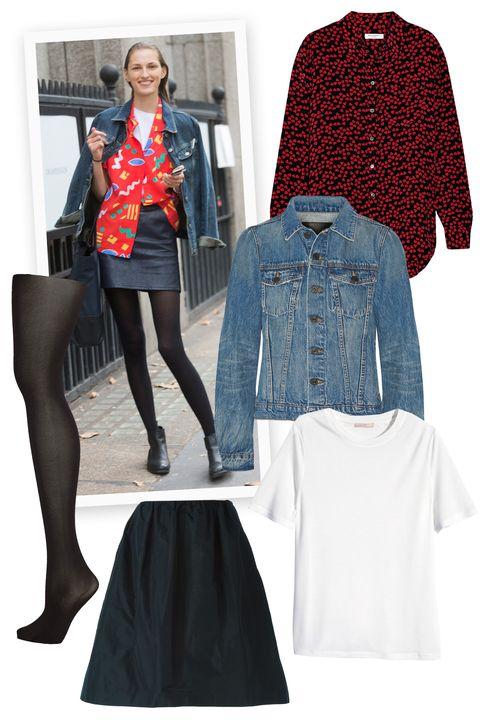 Clothing, Sleeve, Textile, Outerwear, Collar, Pattern, Style, Jacket, Fashion, Street fashion,