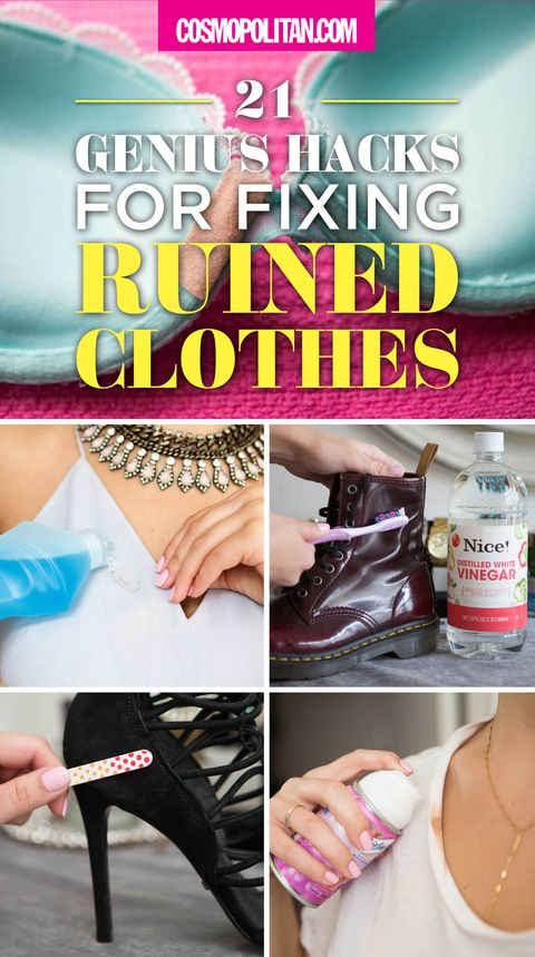 f4c9b87428 21 Genius Hacks for Fixing Ruined Clothes