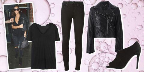 Sleeve, Textile, Jacket, Collar, Style, Fashion, Black, Denim, Leather jacket, Pocket,
