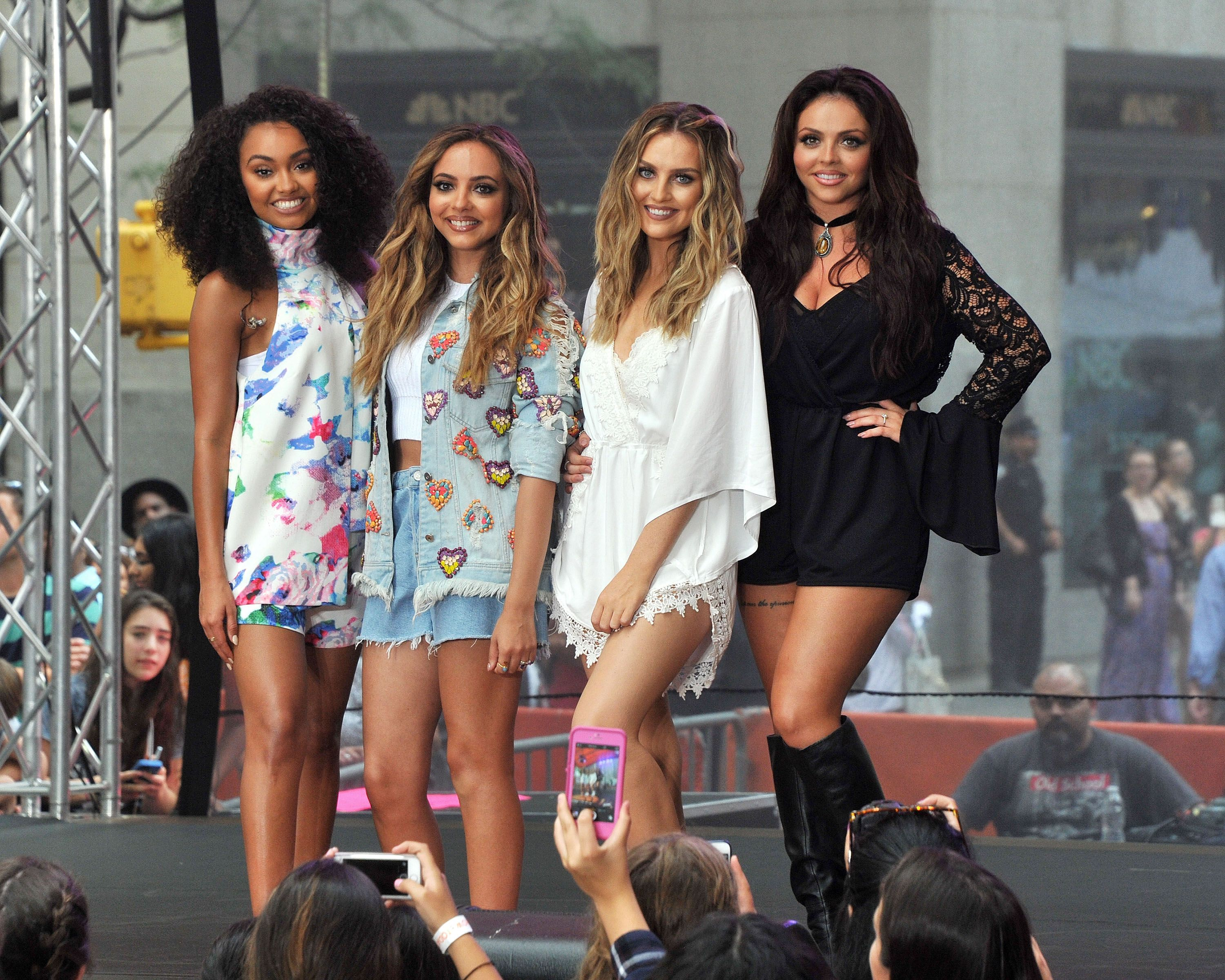 Little Mix Sang a Song About Breakups and Perrie Edwards Cried