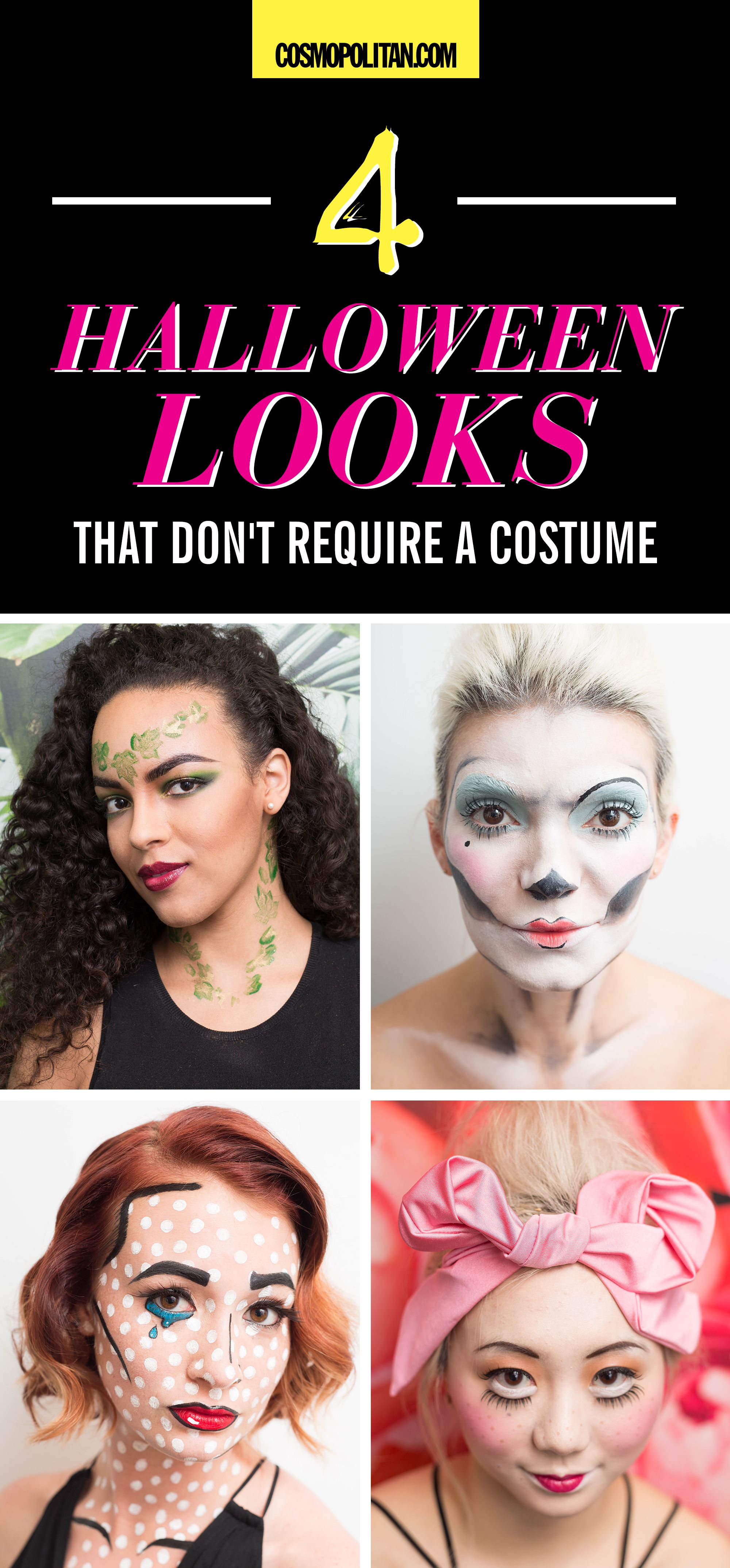 4 Halloween Makeup Looks That Don\'t Require a Costume