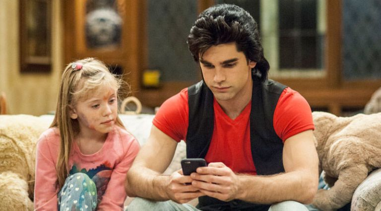 Justin Gaston On Playing Uncle Jesse In Lifetimes Unauthorized