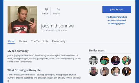 "Josh Duggar May Have Also Used OkCupid for ""Casual Sex"""