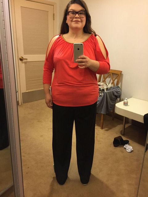 c9ae8c5a1bd Size 16 Woman Asks 5 Stylists to Dress Her in