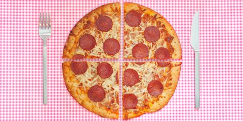 Food, Pattern, Orange, Amber, Baked goods, Recipe, Dish, Ingredient, Fast food, Pizza,