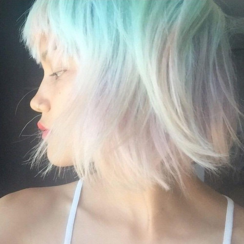 Цвет опал волос
