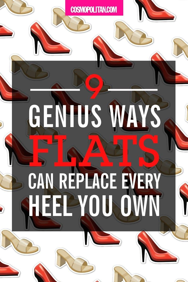 a452e6e9306e 9 Flat Shoes We Love - Genius Ways Flats Can Replace Every Heel You Own