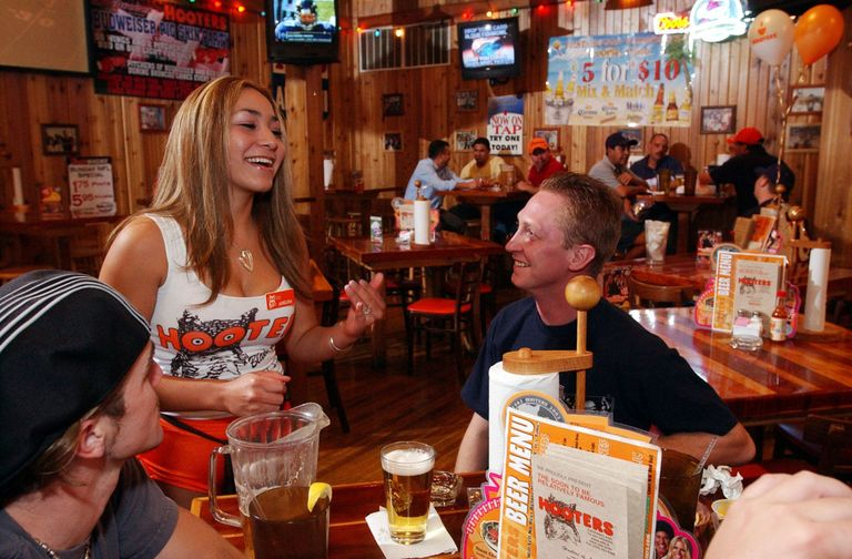 Image result for working at hooters