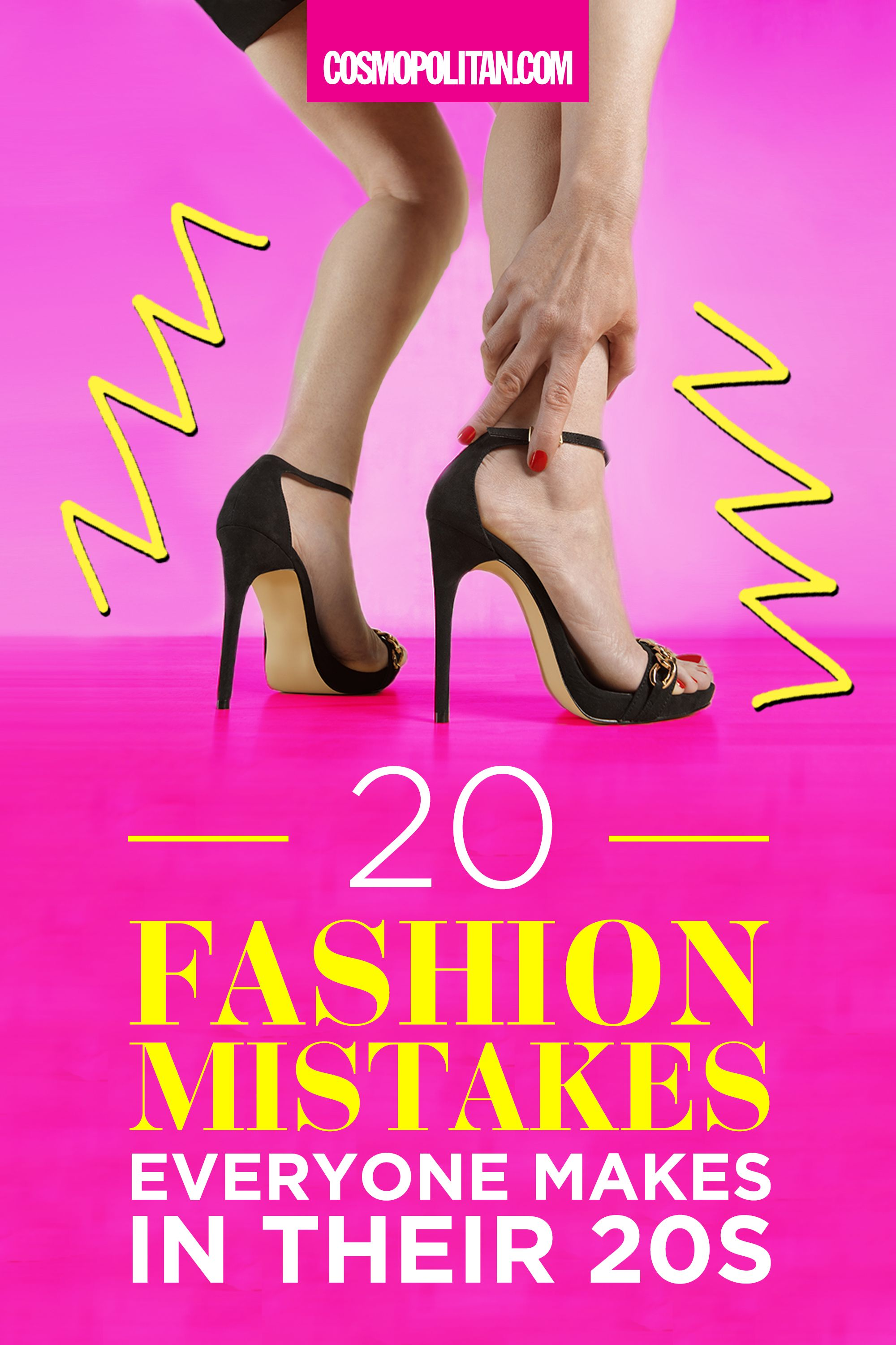 20 Fashion Mistakes Everyone Makes in Their 20s