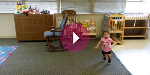 Room, Floor, Flooring, Interior design, Pink, Baby & toddler clothing, Purple, Magenta, Window covering, Interior design,