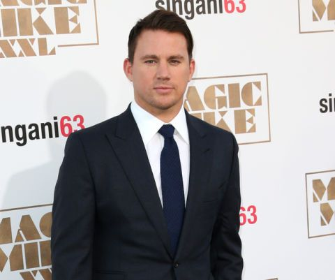 Eerie Photographic Proof That Channing Tatum Is an Actual Time Traveler