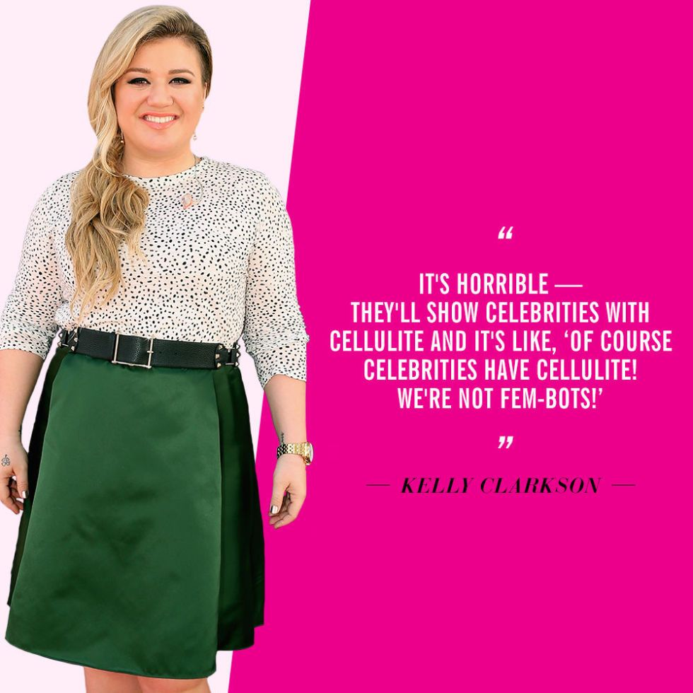 17 Celebrities Share How They REALLY Feel About Their Cellulite