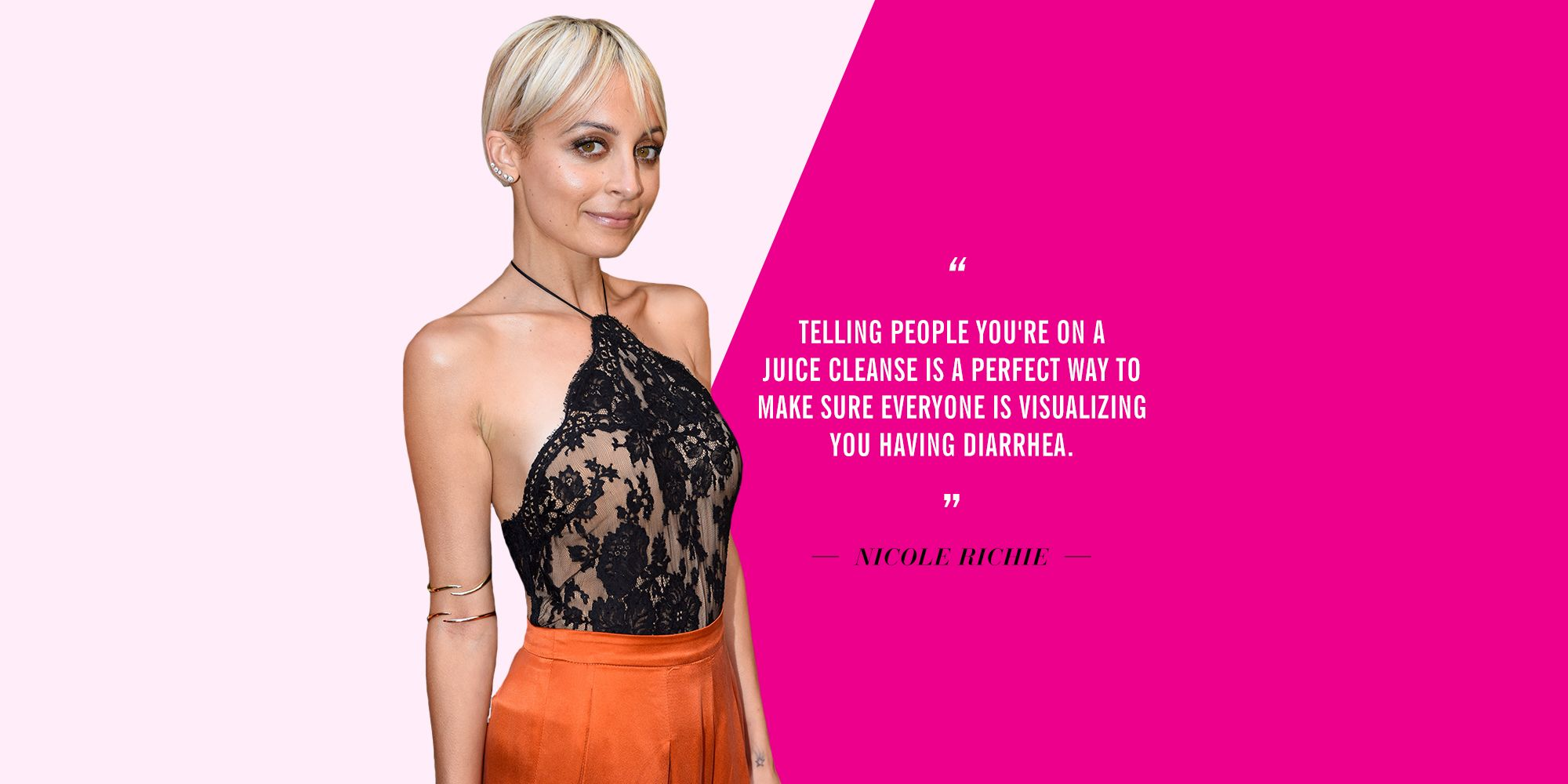 Celebrities talk about juice cleanses malvernweather Gallery