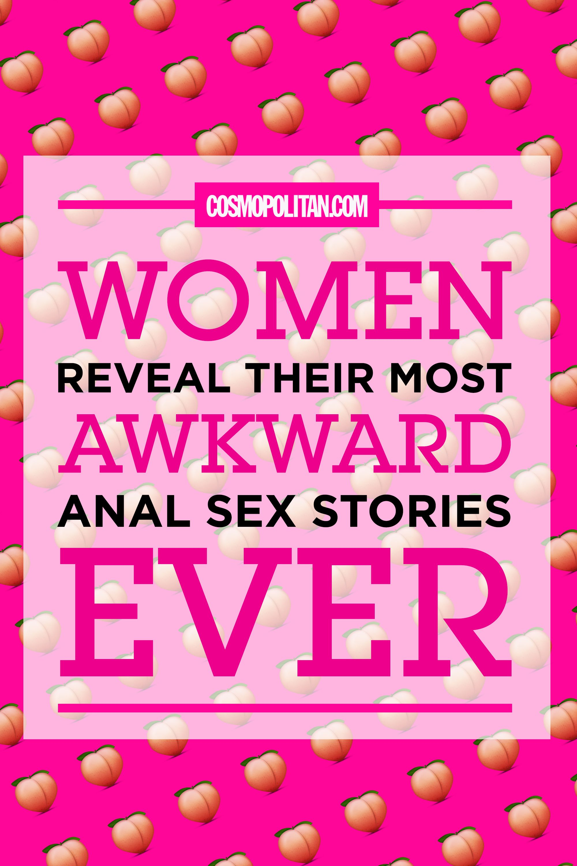 Anal sex stories from women