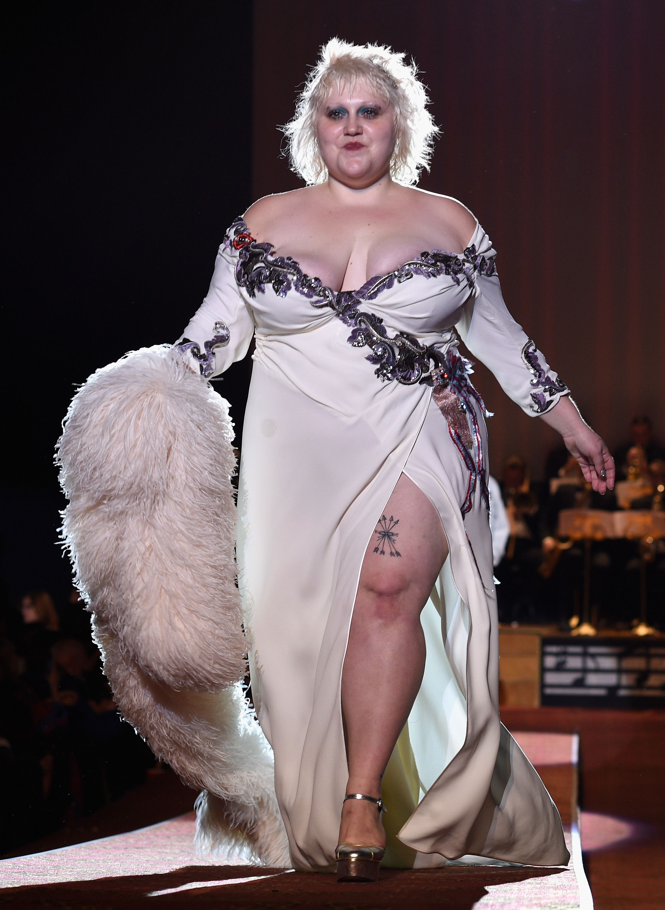 Singer Beth Ditto Serves Gorgeous Curves on the Marc Jacobs Runway