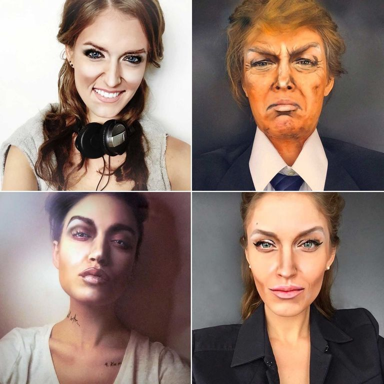Watch This Woman Transform Herself Into A-List Celebrities Using Only Makeup