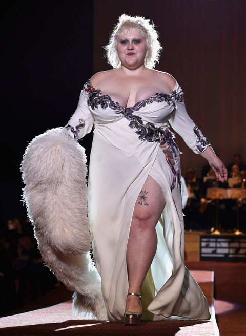 Singer Beth Ditto Serves Gorgeous Curves on the Marc ...