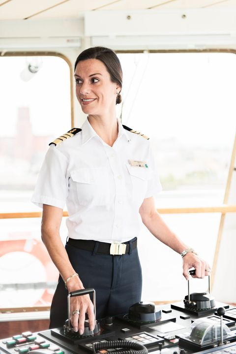 Get That Life How I Became The First American Female Captain Of A - How to be a cruise ship captain