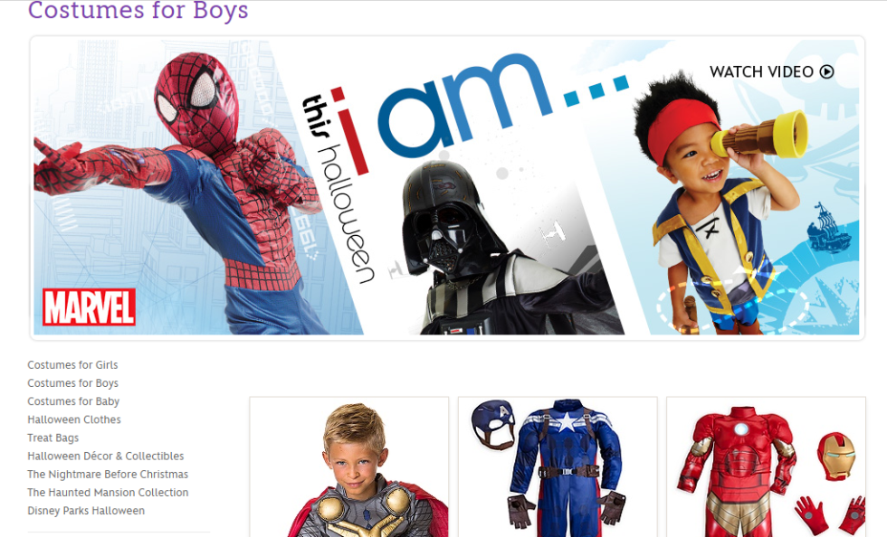 Disney Store  sc 1 st  Cosmopolitan & Incredible: Now Disney Is Removing Gender-Based Labels for Kids ...