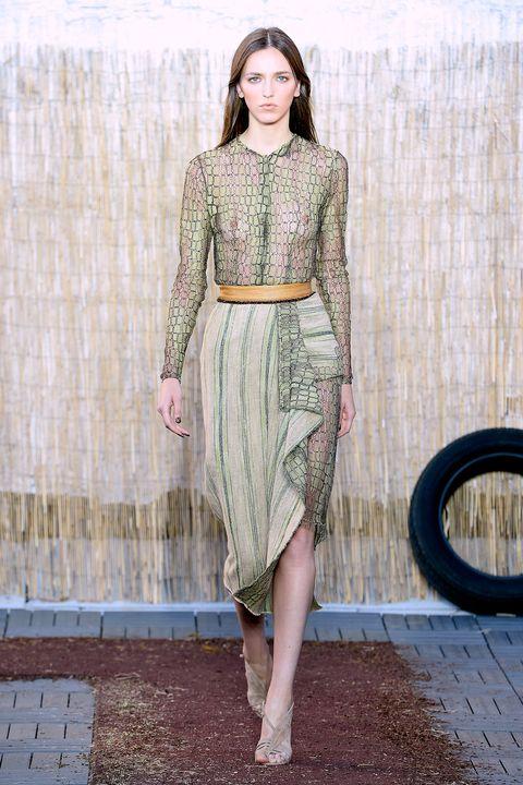 Top Press of Miranda Kerr showcasing designs by Willow on