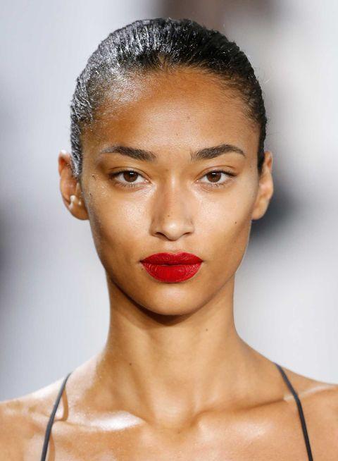 Ear, Nose, Mouth, Lip, Hairstyle, Skin, Chin, Forehead, Eyelash, Eyebrow,