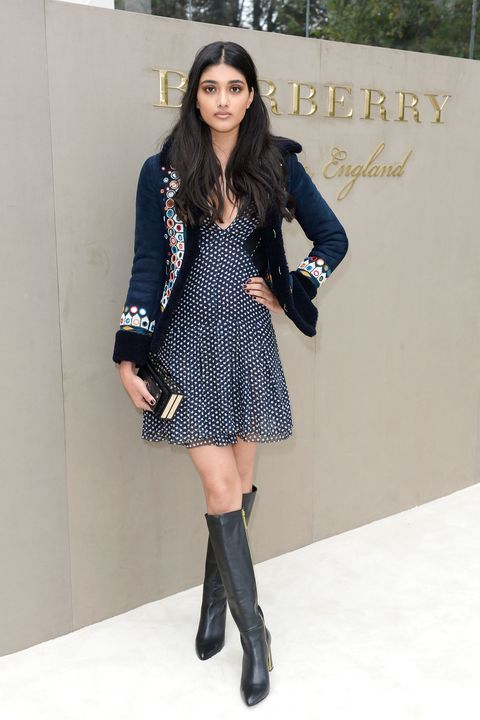 Clothing, Sleeve, Textile, Joint, Outerwear, Style, Street fashion, Pattern, Knee, Boot,