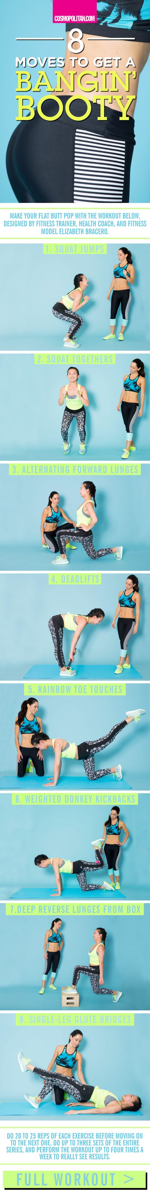 8 Moves To Get A Bangin Booty
