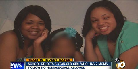 5-Year-Old Girl Kicked Out of School Because She Has 2 Moms