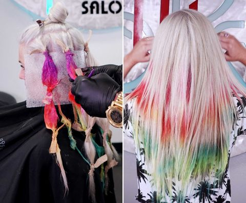 Hair Color Trends Of 2015 Craziest Hair Colors