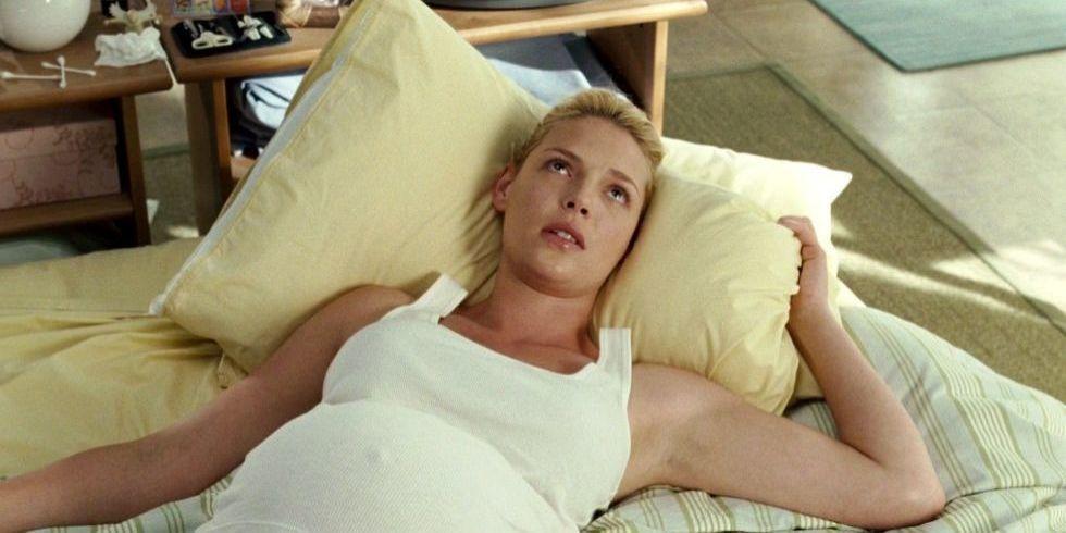 Film of cervix during female orgasm