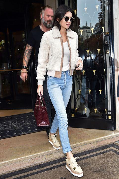 Clothing, Eyewear, Trousers, Denim, Bag, Textile, Outerwear, White, Jeans, Style,