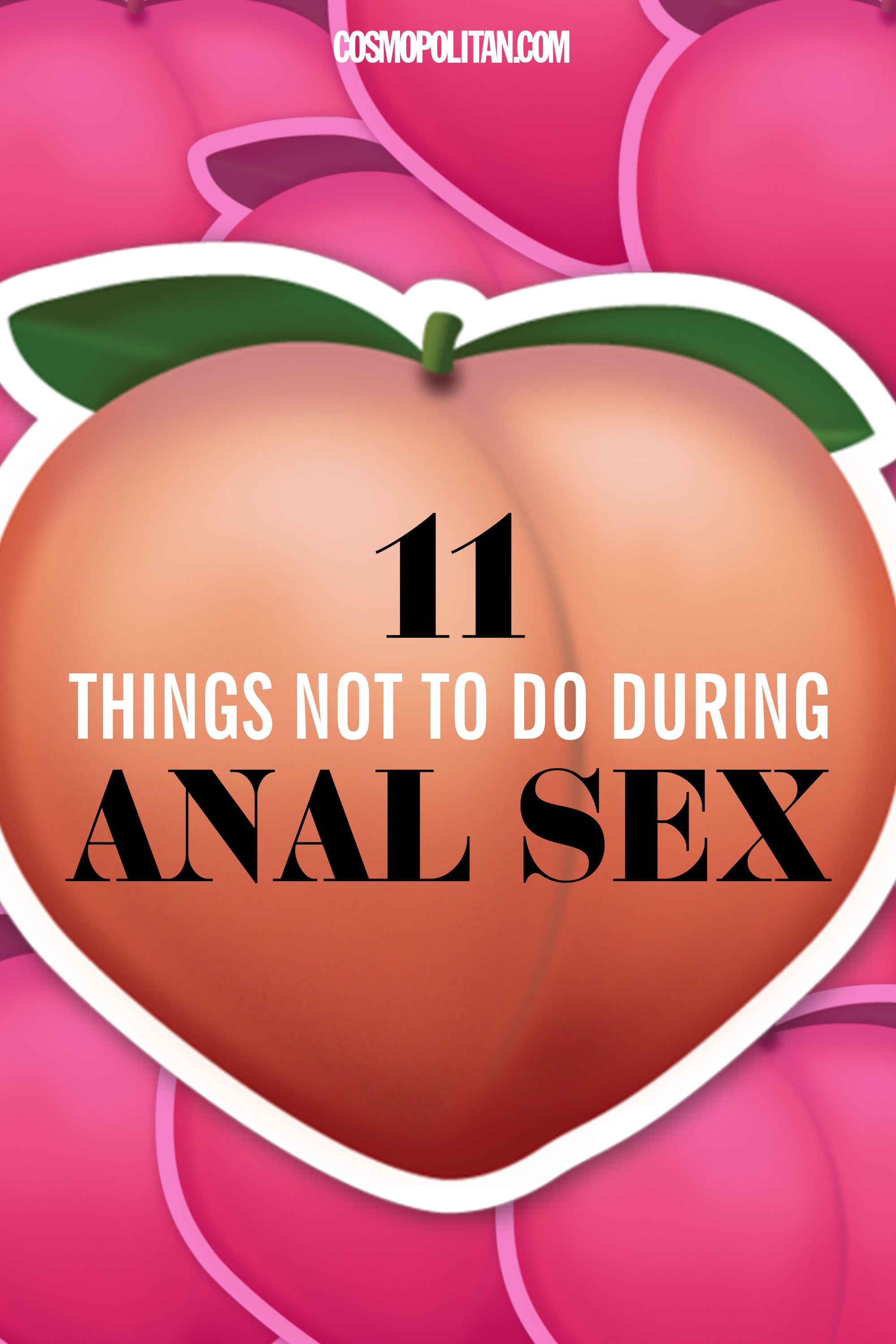 Practicing safe anal sex