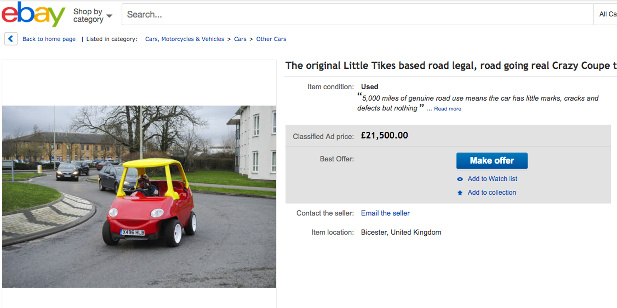 You Can Now Buy a Fully Functioning Version of the Toy Car You Had ...