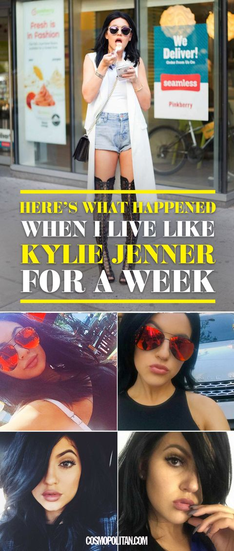 Here's What Happened When I Lived Like Kylie Jenner for a Week