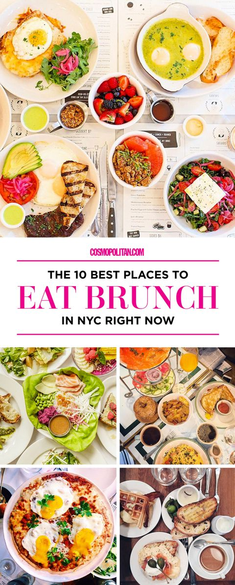 2017 Best Brunch Spots In Nyc Top New York City Brunch