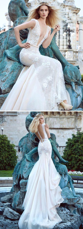 Backless Wedding Gowns - Wedding Dress Trends Fall 2016