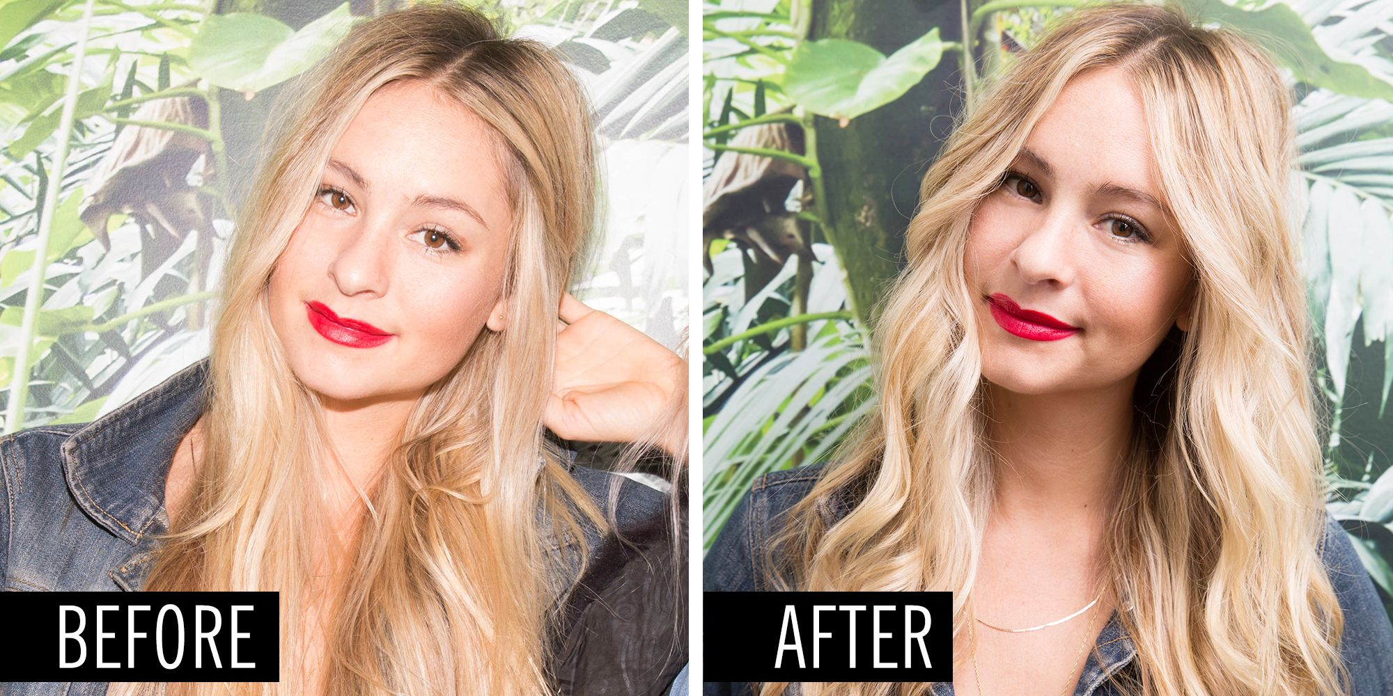 How To Curl Your Hair With A Straightener Flat Iron Curling Tutorial