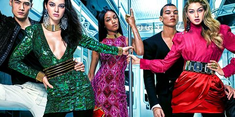 all 109 pieces from balmain x h m collaboration