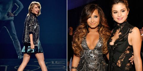 Selena Gomez Shuts Down Rumors That Taylor Swift Came Between Her and Demi Lovato