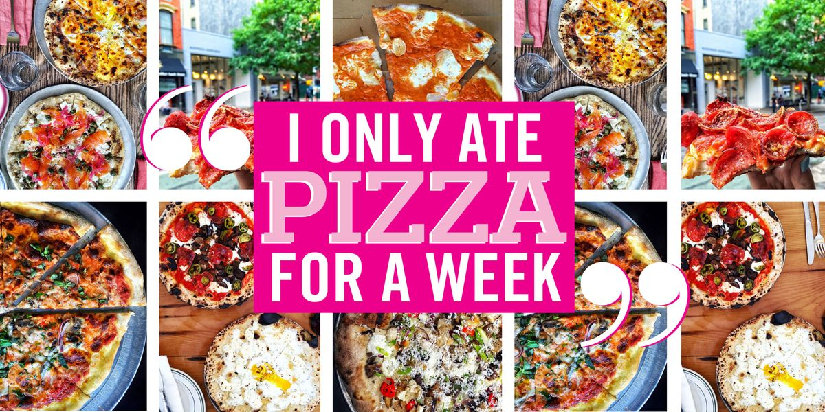 I Only Ate Pizza for a Week and I Lost 5 Pounds