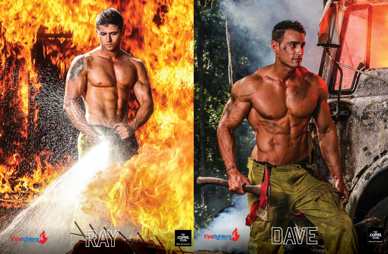 Fdny firefighters naked