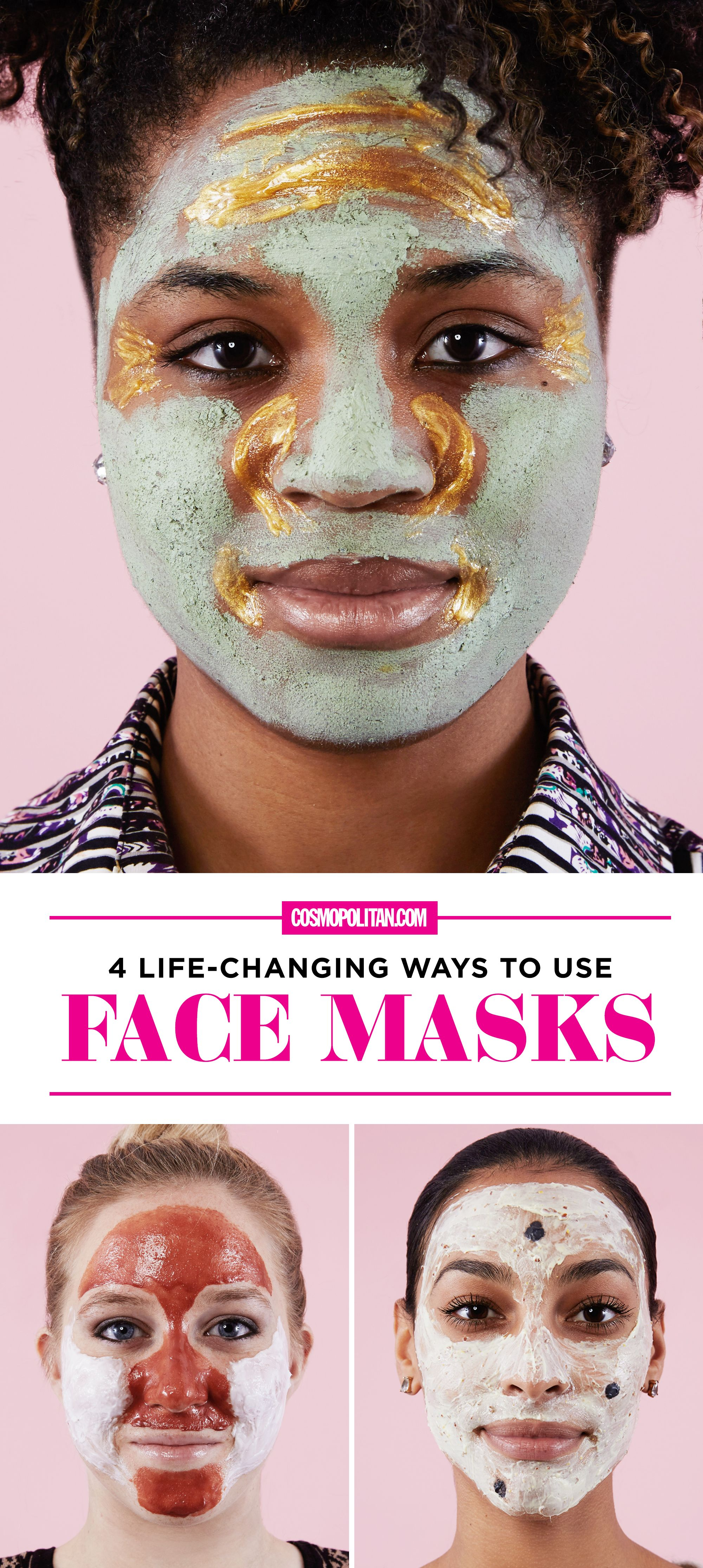 4 Life-Changing Ways to Use Face Masks