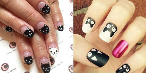 11 impossibly cute kitteninspired nail art looks to try