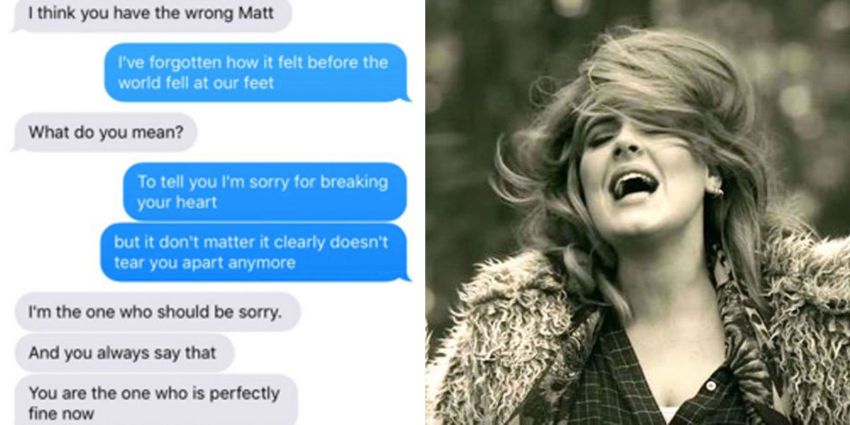 Here's What Happens When You Text Your Unsuspecting Ex Sad